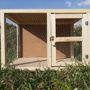 قفس کبوتر با تور و چوب | نوین پت شاپ