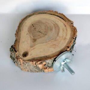 نشیمنگاه چوبی پرندگان | نوین پت شاپ