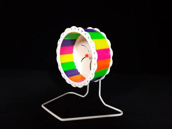 چرخ و فلک پلاستیکی مناسب مرغ عشق | نوین پت شاپ