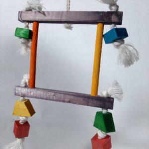 اسباب بازی طوطی سانان | نوین پت شاپ